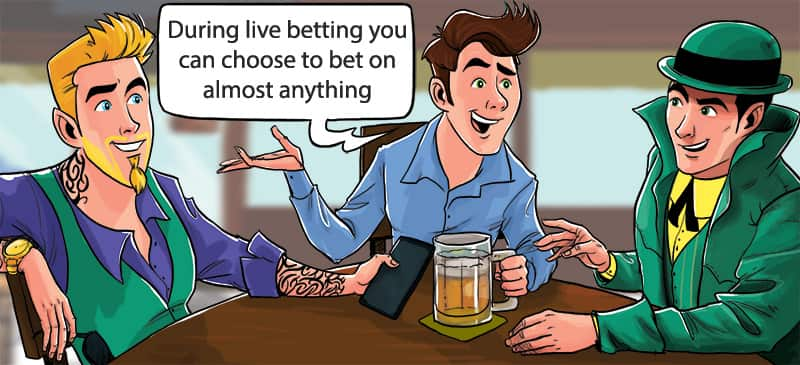 Online Betting vs Live Betting